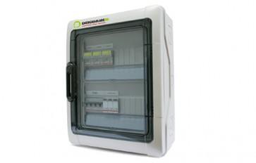 Quadro di campo Fotovoltaico 16A 1 stringa Scaricatore Magnetotermico Interruttore Differenziale Automatico
