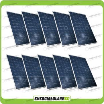 Stock 10 Pannelli Solari 200W 12V