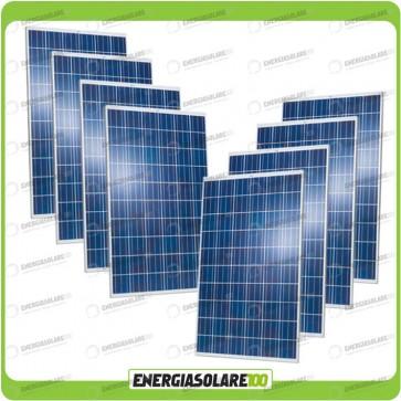 Stock 8 Pannelli Solari 250W 24V europeo