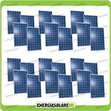 Stock 24 Pannelli Solari 250W 24V