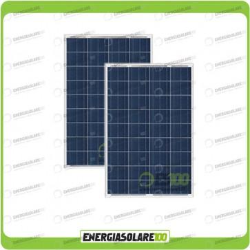 Stock 2 Pannelli Solari 80W 12V