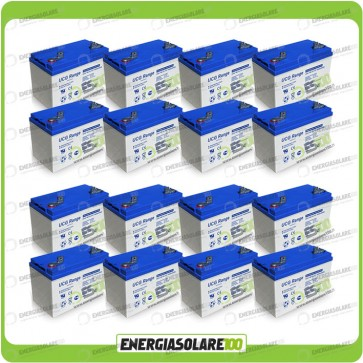 Stock 16 Batterie UCG100 16896Wh