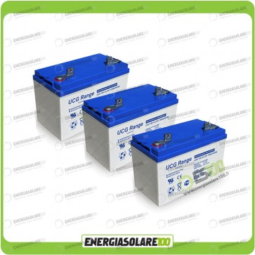 Stock 3 Batterie UCG100 3168Wh