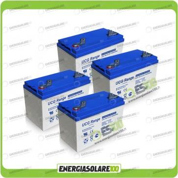 Stock 4 Batterie UCG100 4224Wh