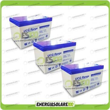 Stock 3 Batterie UCG12