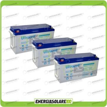 Stock 3 Batterie UCG150 4737,60Wh