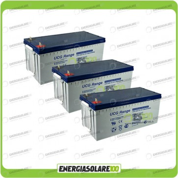 Stock 3 Batterie UCG200 5760Wh