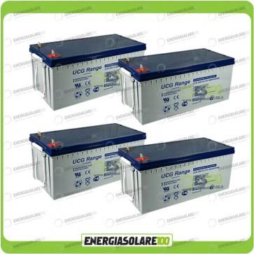 Stock 4 Batterie UCG200 7680Wh