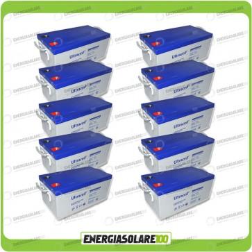 Stock 10 Batterie UCG250 25680Wh