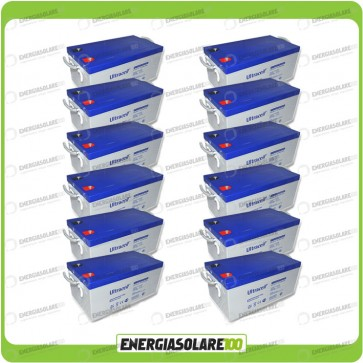 Stock 12 Batterie UCG250 30816Wh