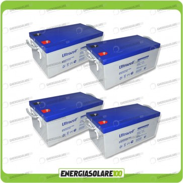 Stock 4 Batterie UCG250 10272Wh