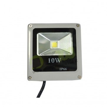 Faro LED Slim 10W 230V a Luce Fredda in Alluminio IP66