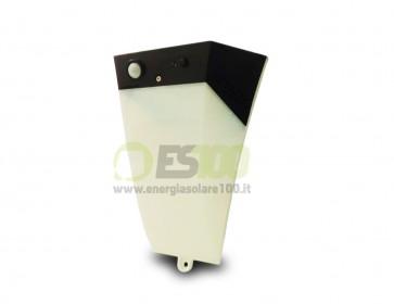 Luce a LED da Giardino Solare con Sensore di Movimento e Allarme