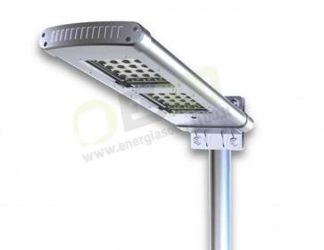 Faro a Led Solare per Illuminazioni Esterne con crepuscolare e PIR