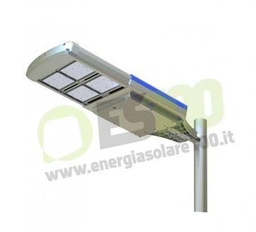 Faro Led Solare Stradale 2000Lm 20W con Pannello 35W