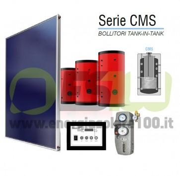 Kit FOR-CMS Pannello Piano 15m + 1000L Serbatoio Doppio + Acces