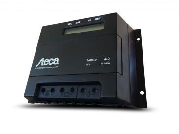 Regolatore di carica Steca Tarom 40A 48 V con Display fotovoltaico solare off-grid