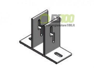 Elemento di Ancoraggio su Piano in Alluminio TL008