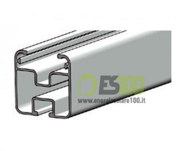 Profilo in Alluminio Longherone 40x40mm Barra da 3.15mt