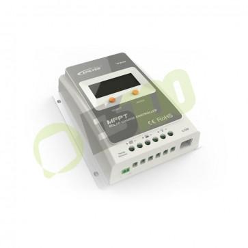 Regolatore di Carica Solare EpSolar MPPT Tracer-A 20A 100Voc 12/24V con Display (Default)
