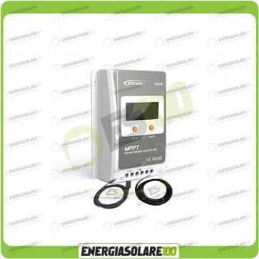 Kit Regolatore di Carica Epsolar Tracer Serie A 40A 12-24V 100Voc con Cavo USB-RS485 e Sensore di Temperatura