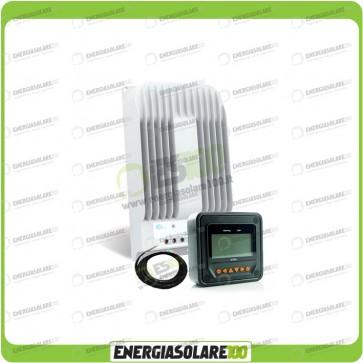 Kit Regolatore di Carica Epsolar Tracer Serie BN 30A 12-24V 150Voc con Display MT-50 e Sensore di temperatura