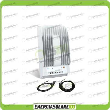 Kit Regolatore di Carica Epsolar Tracer Serie BN 10A 12-24V 150Voc con Cavo USB-RS485 con Sensore di Temperatura