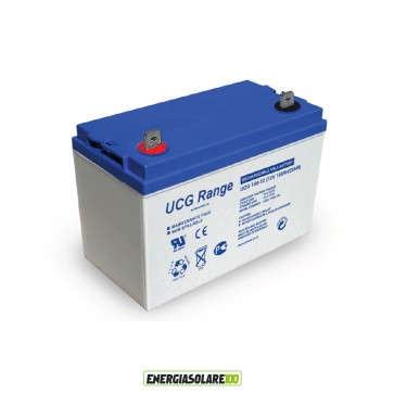 Batteria Ultracell Gel 100Ah 12V Deep Cycle
