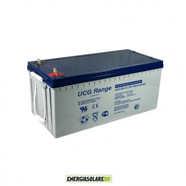 Batteria Ultracell Gel 200Ah 12V Deep Cycle