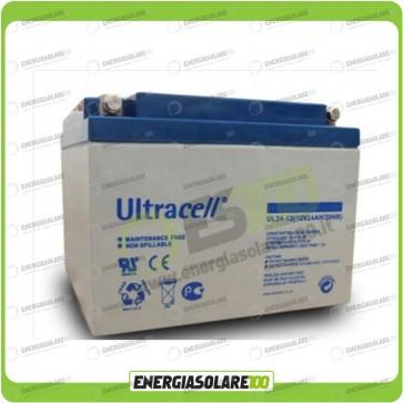 Batteria Ultracell 24Ah 12V serie UL x allarme Gruppo Continuità UPS