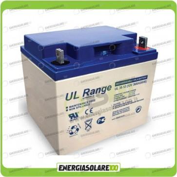Batteria Ultracell 38AH 12V serie UL x allarme Gruppo Continuità UPS