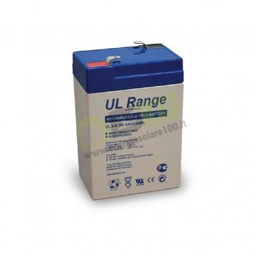 Batteria UltraCell 4Ah 6V Serie UL