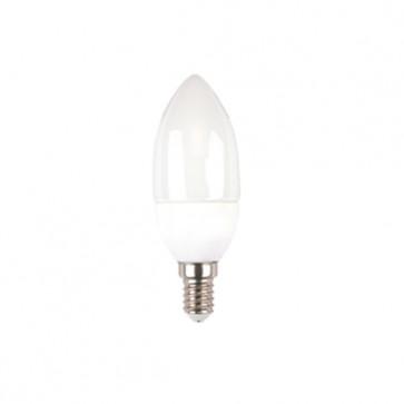 Lampadina a Bulbo LED a Candela 4W a Luce Naturale E14