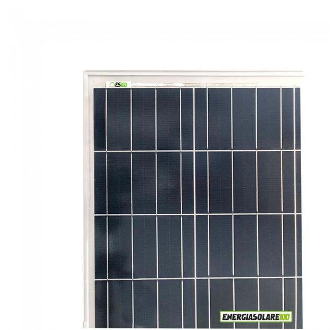 Quanto Carica Un Pannello Solare Da 100w : Pannello solare fotovoltaico w v energiasolare
