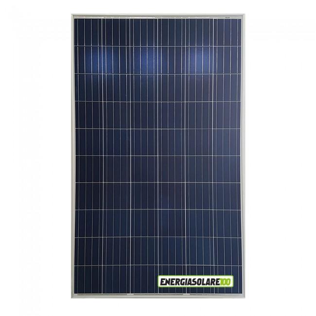 kit pannello solare fotovoltaico 250w 24v regolatore pwm