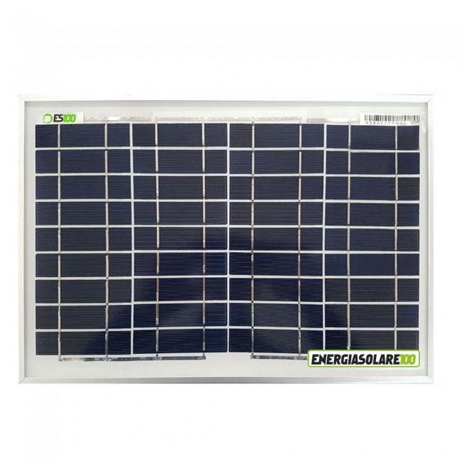 Pannello Solare Per Batteria Auto : Pannello solare fotovoltaico policristallino w v