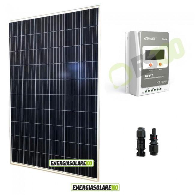 Regolatore Pannello Solare Zenith : Kit starter pannello solare fotovoltaico w v