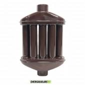 Scambiatore di Calore Smantati Porcellanati diametro 8 cm H50cm colore Marrone