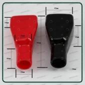 Coppia Copri Polo Batteria AGM GEL