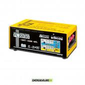 Carica batterie automatico DECA 6-12-24V 22A con controllo elettronico e mantenimento della carica