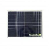 Pannello Solare Fotovoltaico 50W 12V Carica Batteria Auto Camper Nautica Allarme
