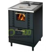 Cucina a Legna da Inserimento Ghibli Metallo Sc Fumi Super 6,5KW