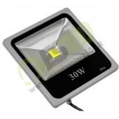 Faro Slim a Led Bridgelux 30W 230V a luce fredda 5000K IP66