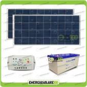 Kit Solare Allarme 12 volt 2NX150P