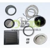 Kit di Ventilazione con Sistema Aria In/Out x Collettore Solare