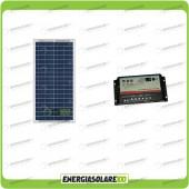 Kit Camper Base pannello solare 30W 12V con regolatore REGDUO