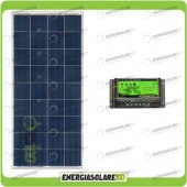 Kit Solare Fotovoltaico 150W 12V Mantenimento