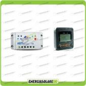 Kit regolatore di carica 10A 12-24V con display Mt-50 (Set Kit)