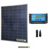 Kit starter pannello solare 200W 12V regolatore di carica 20A PWM serie NV