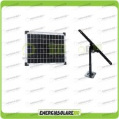 Kit Pannello Solare 10W 12V EJ con Supporto di fissaggio Regolabile